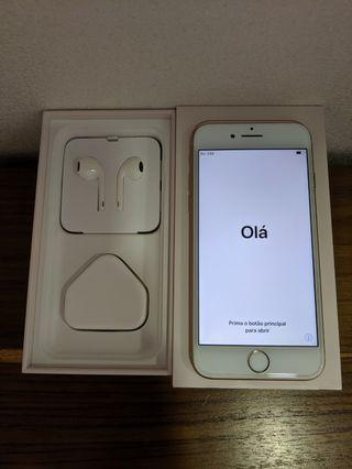 iPhone 8 64gb Gold with Apple Care+