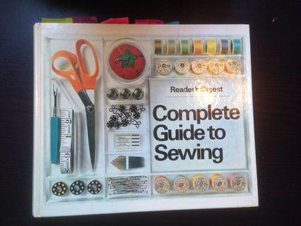 sewing book 1976 ed.