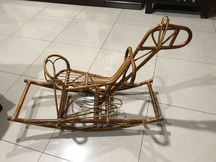 Rattan Horse Toy (Rotan)