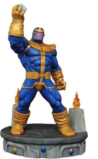 Diamond Select Marvel Premier Collection Thanos Statue Sideshow