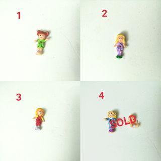 Vintage Polly Pocket dolls from $6