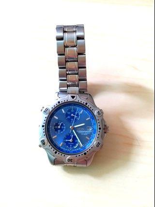 Seiko Watch 藍精靈手錶