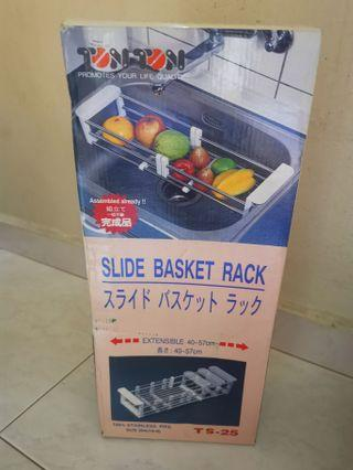 Slide Basket Rack Extensible