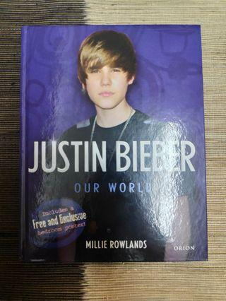 Justin Bieber Our World Book WITH Bedroom Poster