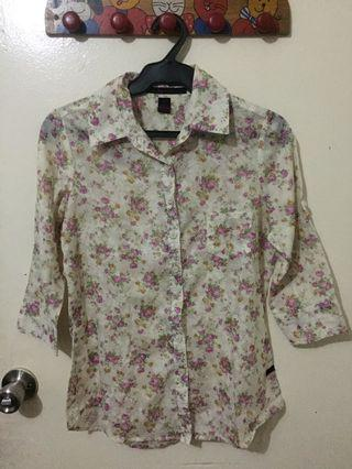 Kisses & co collared blouse