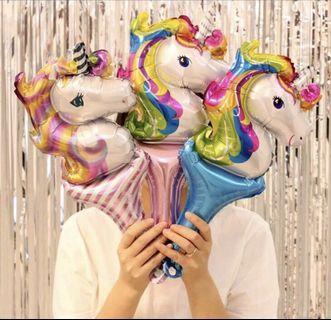 🚚 Unicorn handheld balloons