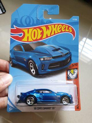 Hot wheels copo camaro