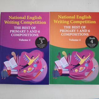 *NEW*! National English Writing Competition - Best of Primary 5&6 Compositions (Vol 4, 2019 version)Singapore format!