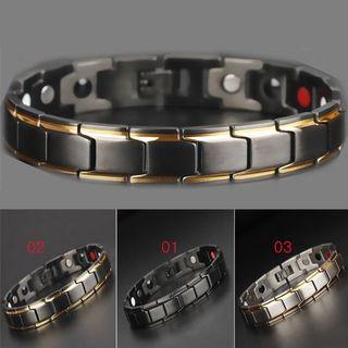 Health Energy Bracelet Men Bio Magnetic Anti-fatigue Bracelets Jewelry