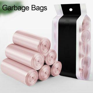 Garbage trash bag durable disposable 30bags in a roll