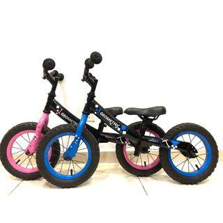 Geometric Kids Push Bike