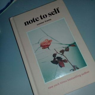 [ INC POS ] NOTE TO SELF BY CONNOR FRANTA