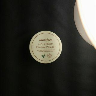 [Preloved] Innisfree No-Sebum Mineral Powder