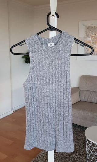 River Island Top Grey Blue Size 6 each $10