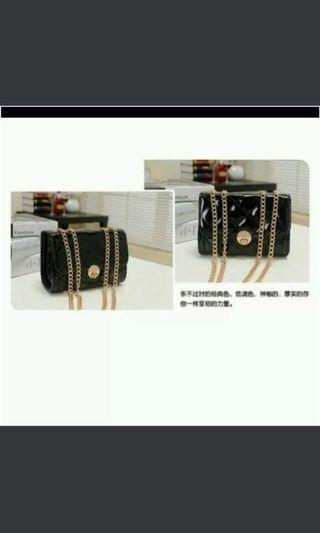 Black mini chain Bag