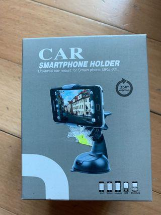 (Brand New) Car Smartphone Holder Car Mount - suction cup