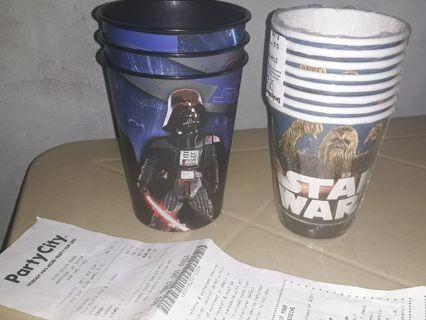 Star Wars cups (free shipping)