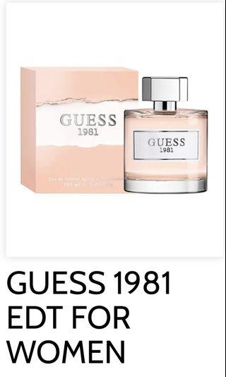 🚚 Guess 1981 for women