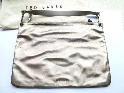 Ted Baker Large Leather Shoulder Bag