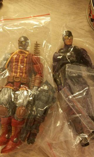 兩隻1:12 figure  marvel legends 兩隻