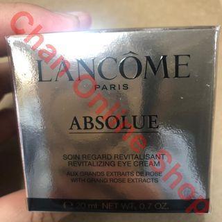 包郵 蘭蔻極緻完美玫瑰眼霜 20ml - LANCOME Absolue Eye Cream