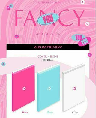 Twice -fancy you album