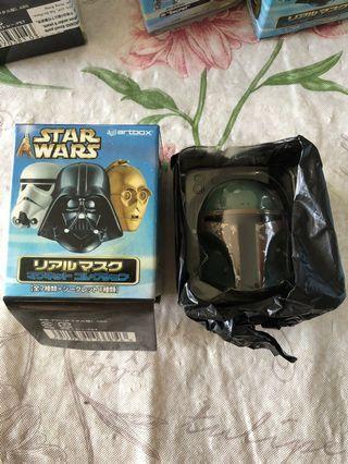 star wars 星球大戰 磁石貼 - boba fett 士兵 特別版 1隻 頭盔 頭像