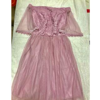 New Bridesmaid sister dinner gown evening dress RM50 only