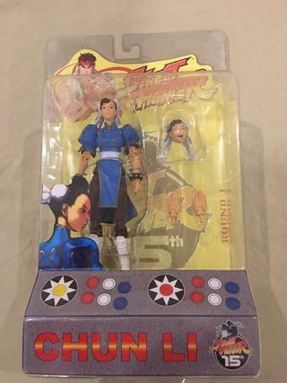 SOTA Chun Li MOC Street Fighter Action Figure