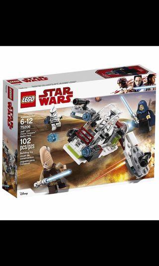 🚚 LEGO STAR WARS 75206 JEDI AND CLONE TROOPERS BATTLE PACK without Minifigures NEW