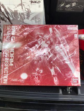 高達模型 MG限定 00 Gundam OO 7劍 特別色
