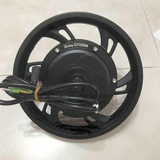 "12"" 52V 3200W HM Brushless Rear Motor Instock Single Phase"