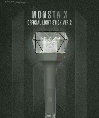 Monsta X official lightstick ver. 2