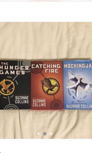 Hunger Games Hardbound set of three-mint condition