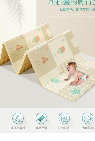 Playmat new inc. delivery 折疊爬爬墊嬰兒爬行墊 145x195x1cm  包送貨上門