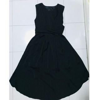 🚚 Black Hi-Low Dress