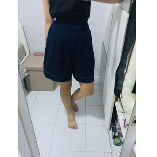🚚 Navy High Waisted Shorts