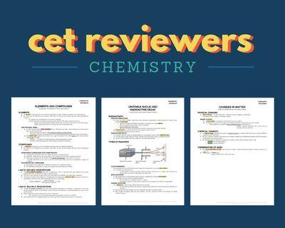 FOR CETs: Chemistry Reviewer