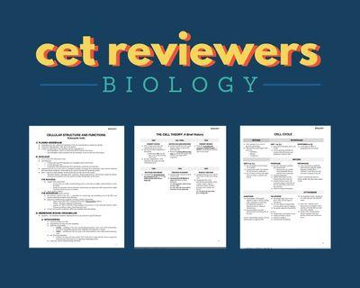 FOR CETs: Online Biology Reviewer