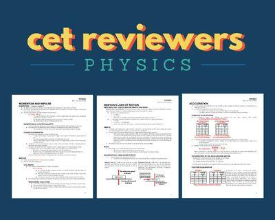FOR CETs: Online Physics Reviewer