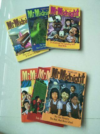 🚚 Mr Midnight Books