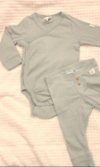 Organic cotton Baby Romper set