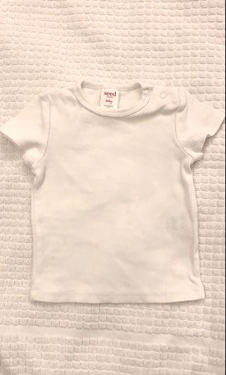 White Crop Top from seed heritage