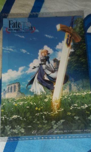 Fate/stay night Heaven's Feel HF 15週年紀念卡片