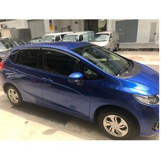 Honda Fit 2013-2019 / Jazz 2014-2019 Door Visor