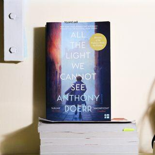 (BUKU IMPOR/ BHS INGGRIS) All The Light We Cannot See by Anthony Doerr