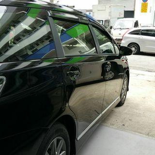 Toyota Wish 2009-2018 Door Visor