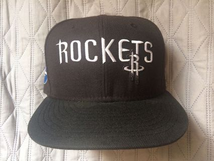 size 40 76c48 79779 New Era X NBA Houston Rockets 59Fifty Fitted Cap