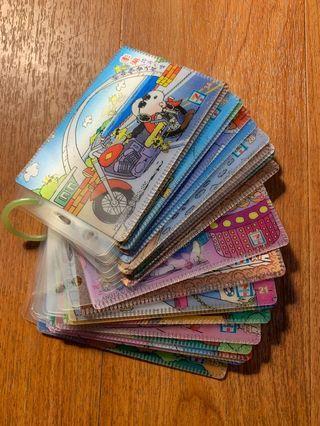 🚚 *New❤️ 史努比 史奴比 SNOOPY 台灣逍遙遊 票卡夾 3D立體卡套 早期711絕版 景點 證件套 悠遊卡套✨