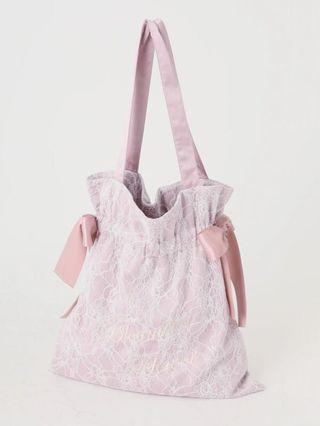 Ank Rouge lace tote bag 2019